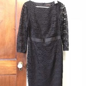 The limited black lace dress NWT